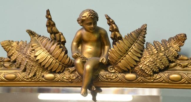 Baroque Carved cherub
