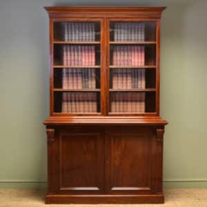 Antique Victorian Bookcase