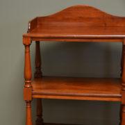 Unusual Victorian Mahogany Antique What Not