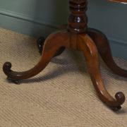 Elegant Regency Mahogany Antique Tea / Side Table