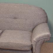 Comfortable Large Edwardian Antique Settee