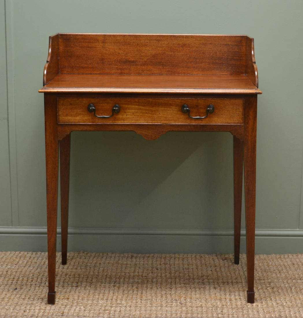 Victorian, Mellow Mahogany, Small Antique Wash Stand