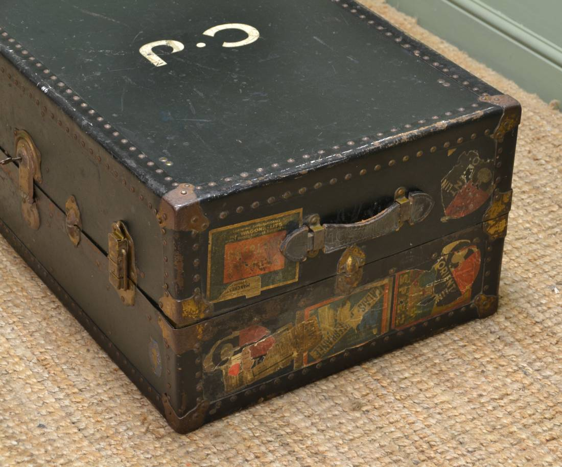 Vintage Watajoy Travel Trunk Coffee Table Antiques World