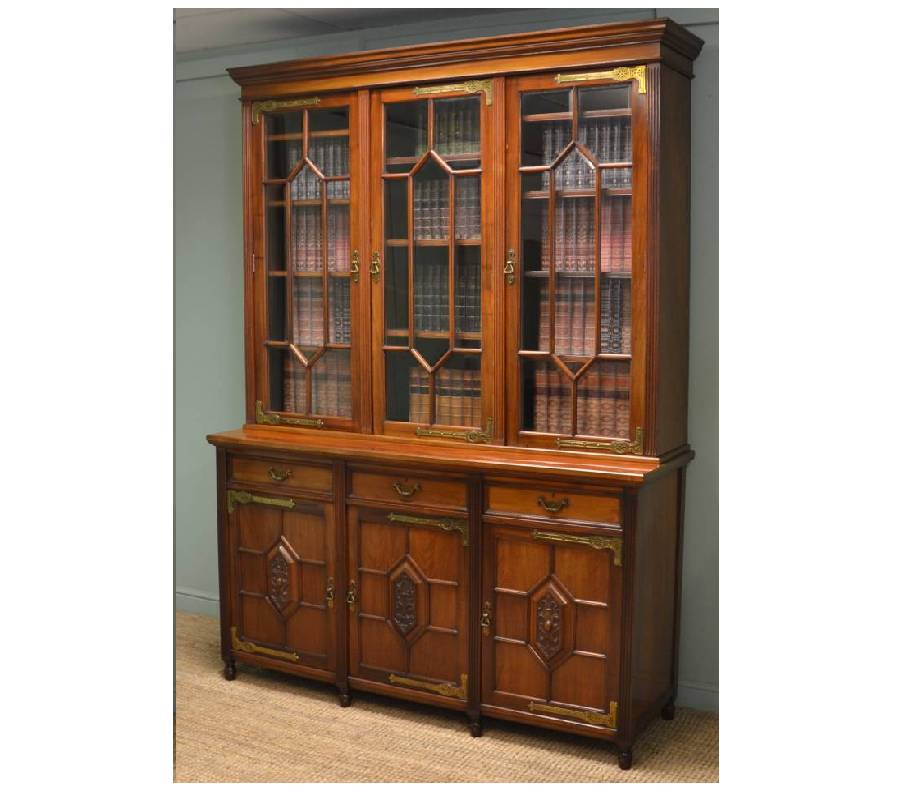 Maple & Co Antique Bookcase