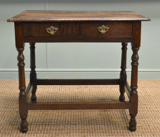 Period Oak Antique Low Boy