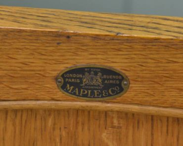 Maple & Co - London, Paris and Buenos Aires.