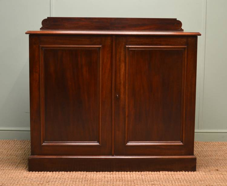 Victorian Mahogany Antique Cupboard / Side Server.
