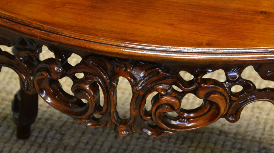 Decorative Victorian Mahogany Antique Coffee Table.