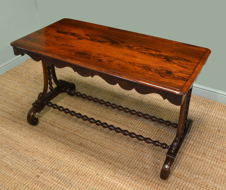 Antique Regency Rosewood Antique Centre Table.