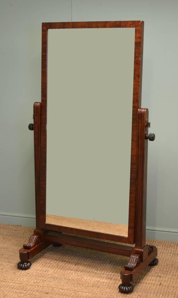 Gillows cheval mirror