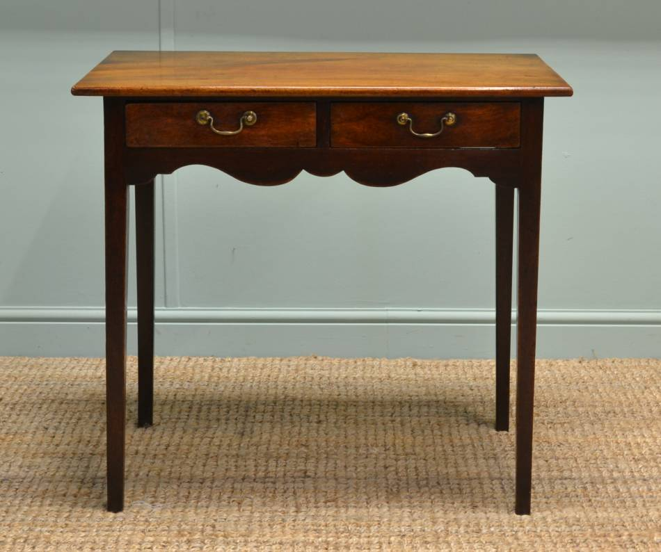 Regency Mahogany Antique Side Table / Hall Table.