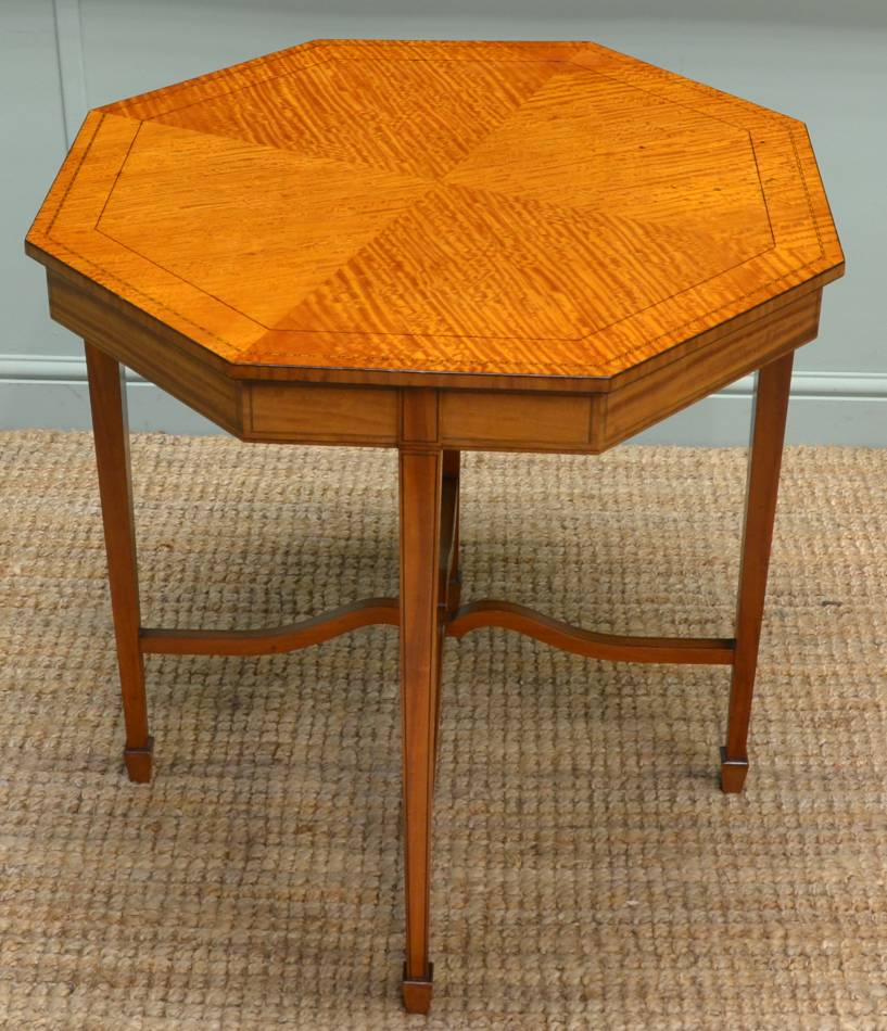 Superb Quality Satinwood Antique Victorian Table