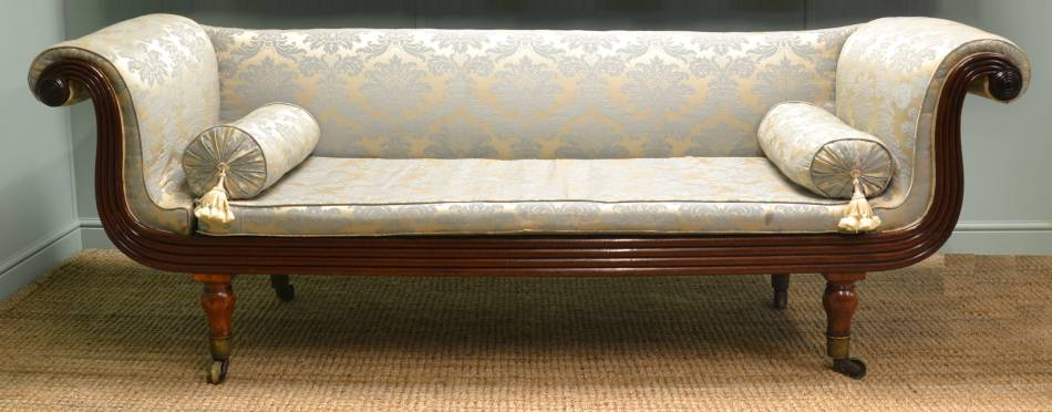 Regency, Mahogany Antique Sofa.