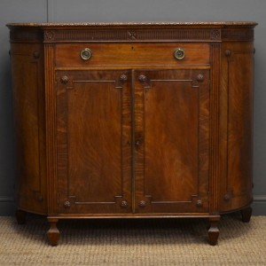 Edwardian Hepplewhite Design Mahogany Antique Sideboard