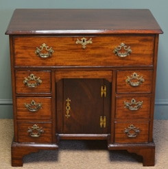 Antique Kneehole Desk