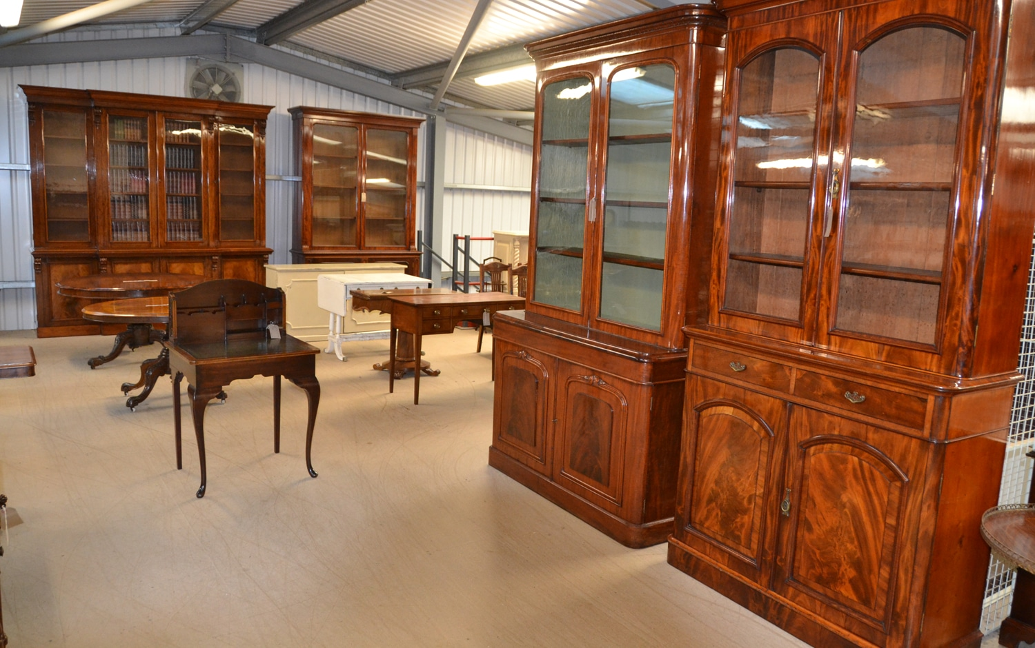 Antique furniture warehouse 7