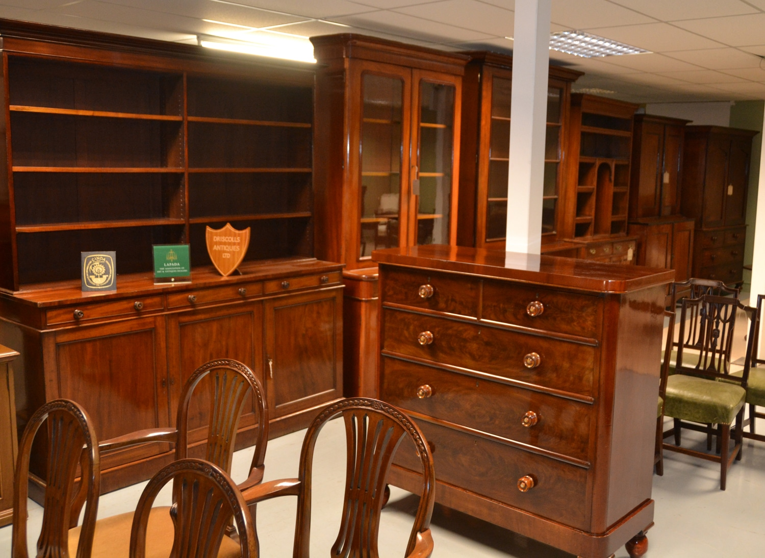 Antique Furniture warehouse 2