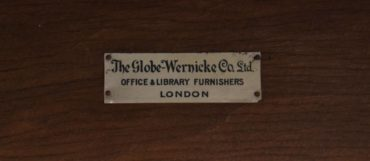 Antique Globe-Wernicke Edwardian Oak Bookcase
