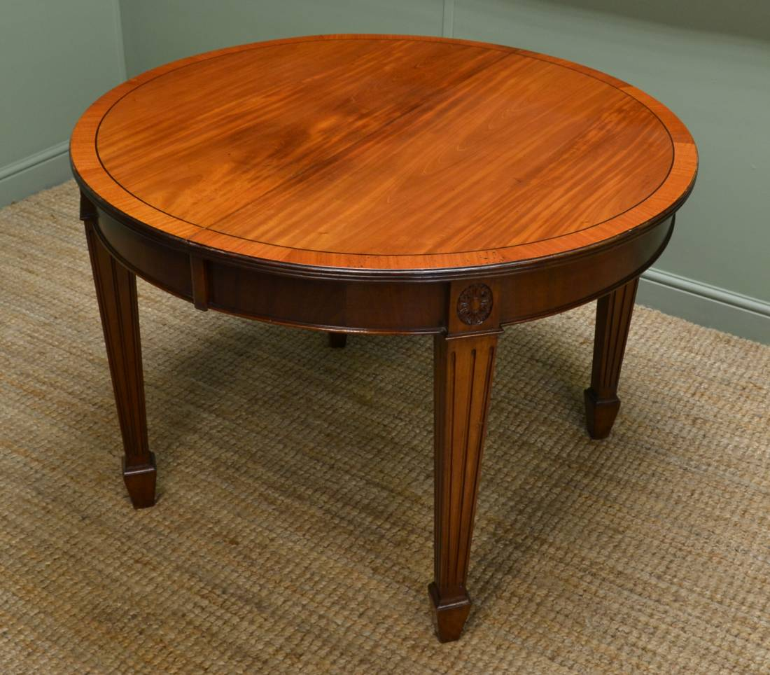 Edwardian Walnut Extending Antique Dining Table Antiques  : 47026 from antiquesworld.co.uk size 1100 x 964 jpeg 120kB