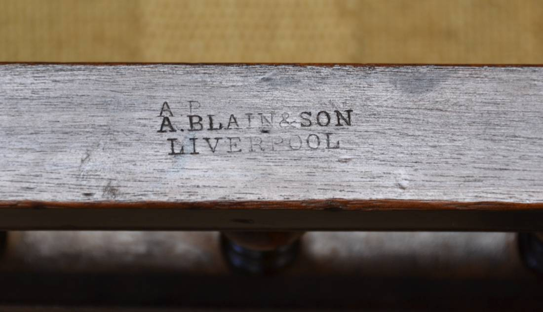 Antique Furniture by The Cabinet Makers A Blain Liverpool