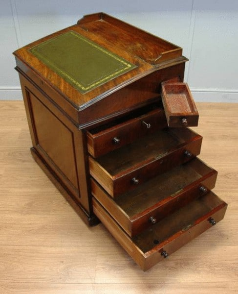 gillows davenport gillows davenport 2 - Antique Davenport Desk - Antiques World