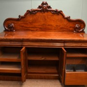 Large, Superb Quality, Victorian Mahogany Antique Sideboard