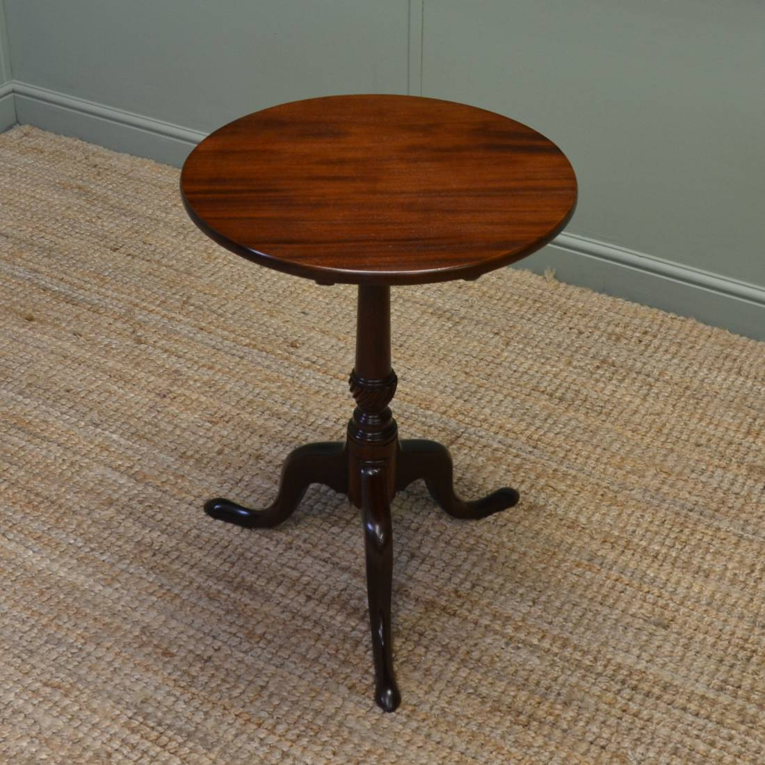 Georgian Mahogany Antique Occasional Wine Table Antiques