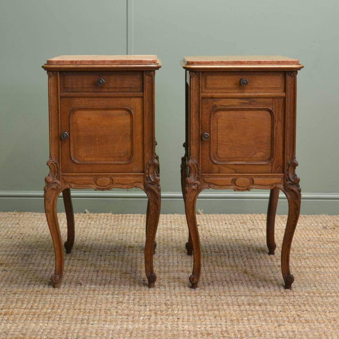 antique bedside cabinets