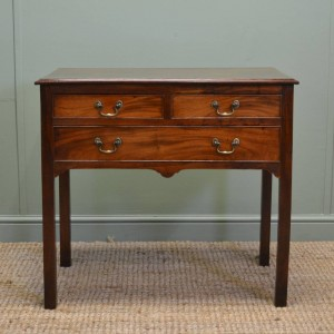 Georgian Mahogany Antique Low Boy / Side Table