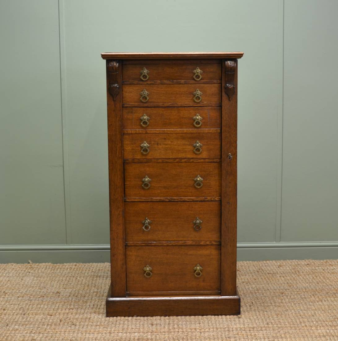 wellington chest with secretaire drawer