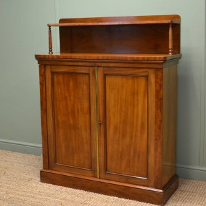 Victorian Mellow Mahogany Antique Chiffonier Cupboard