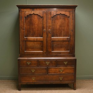 Period Oak Antique Harness Cupboard