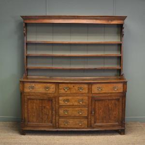 Georgian Oak Antique Dresser