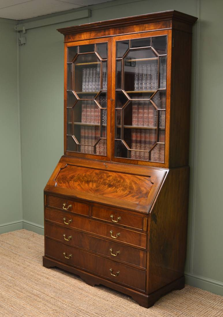Antique Bureau Bookcase Antiques World