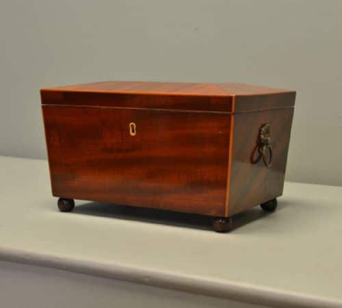 Exceptional Quality, Regency, Inlaid Antique Jewellery Box