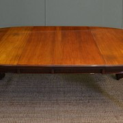 Quality Solid Walnut Victorian Extending Dining Table