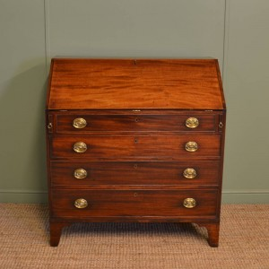 Superb Quality Antique Georgian Mahogany Bureau.
