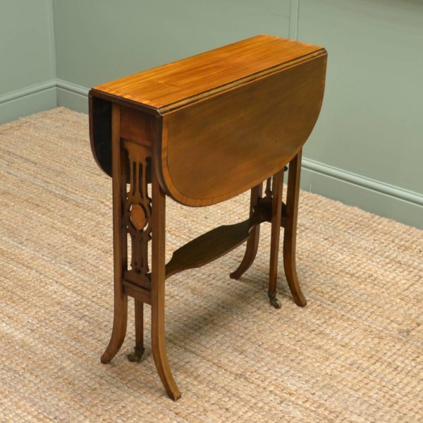 Fine Quality Edwardian Mahogany Antique Sutherland Table