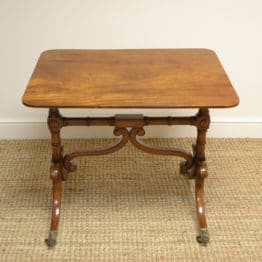 Fine Quality Regency Mahogany Antique Sofa Table / Side Table