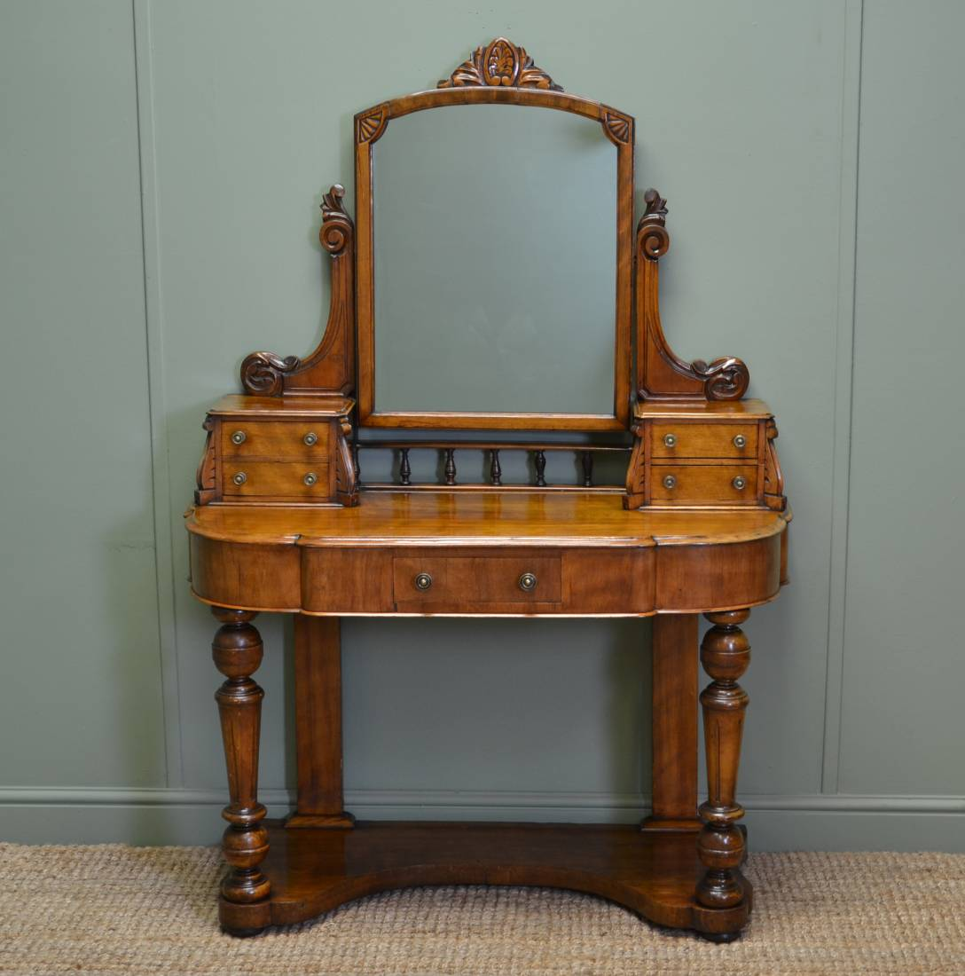 Satin Walnut Duchess Dressing Table