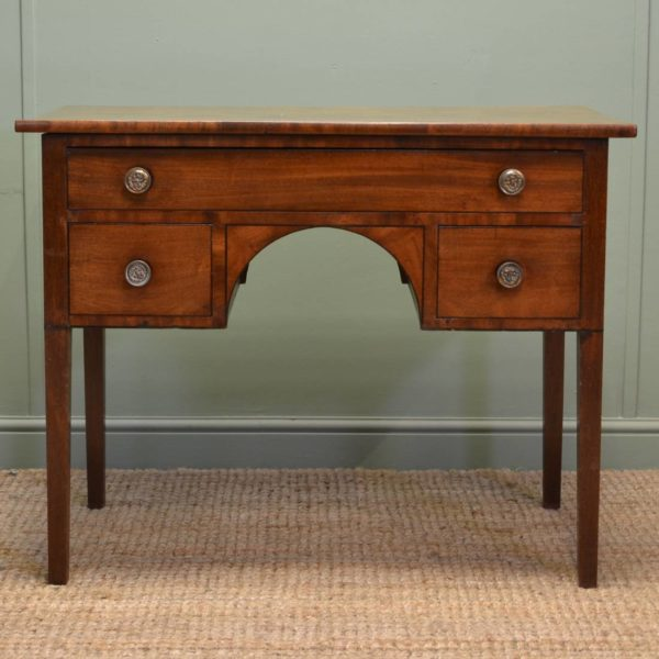 Georgian Mahogany Antique Writing / Side Table