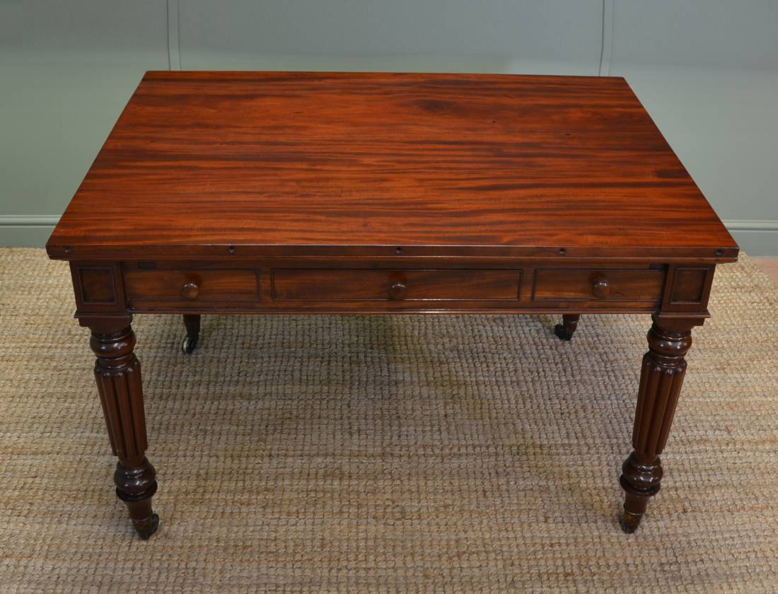 Rare Stunning Quality Regency Gillows Mahogany Antique Writing / Library / Dining Table
