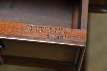 Fabulous Johnstone & Jeanes Antique Victorian Writing Table