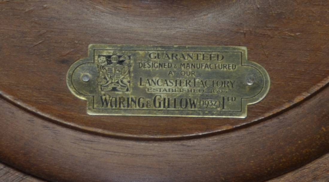 Waring And Gillows Metal Stamp