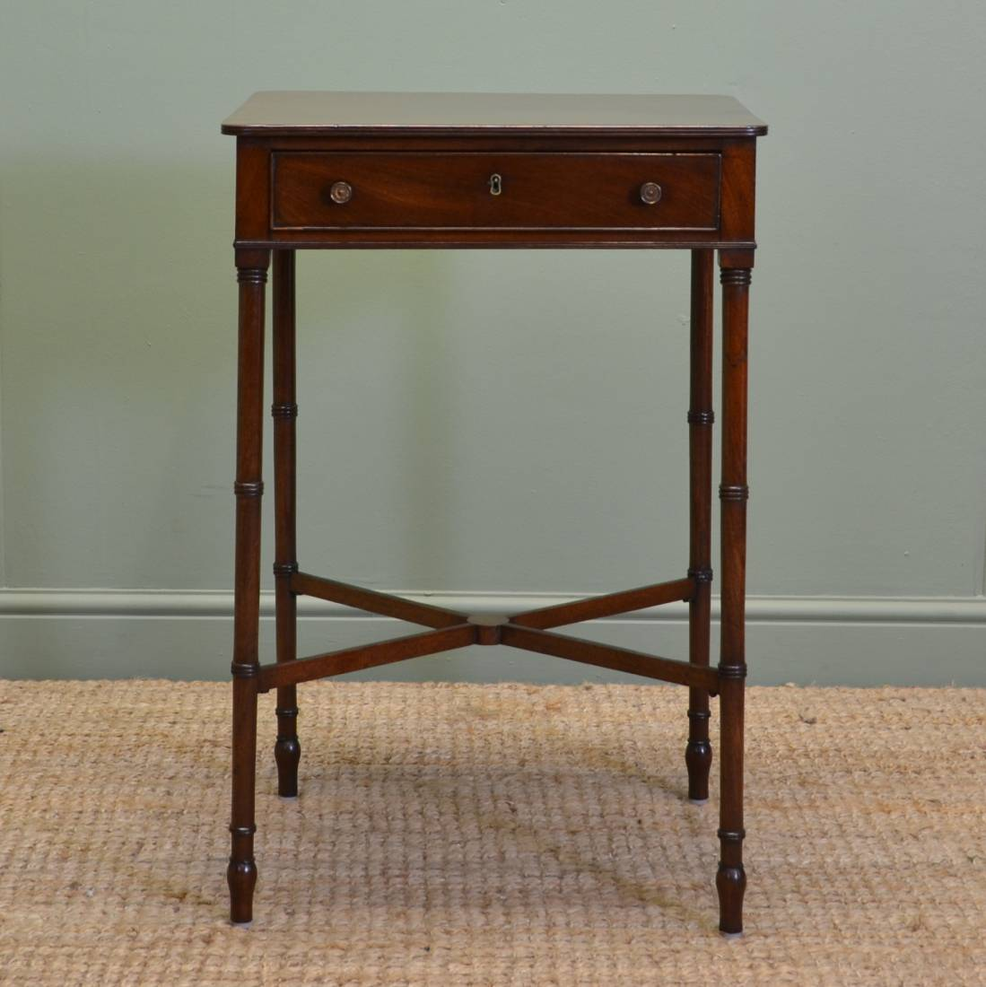 mahogany lamp tables regency mahogany antique side lamp table antiques 3963