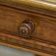 Spectacular John Taylor & Son Antique Victorian Burr Ash Writing Table