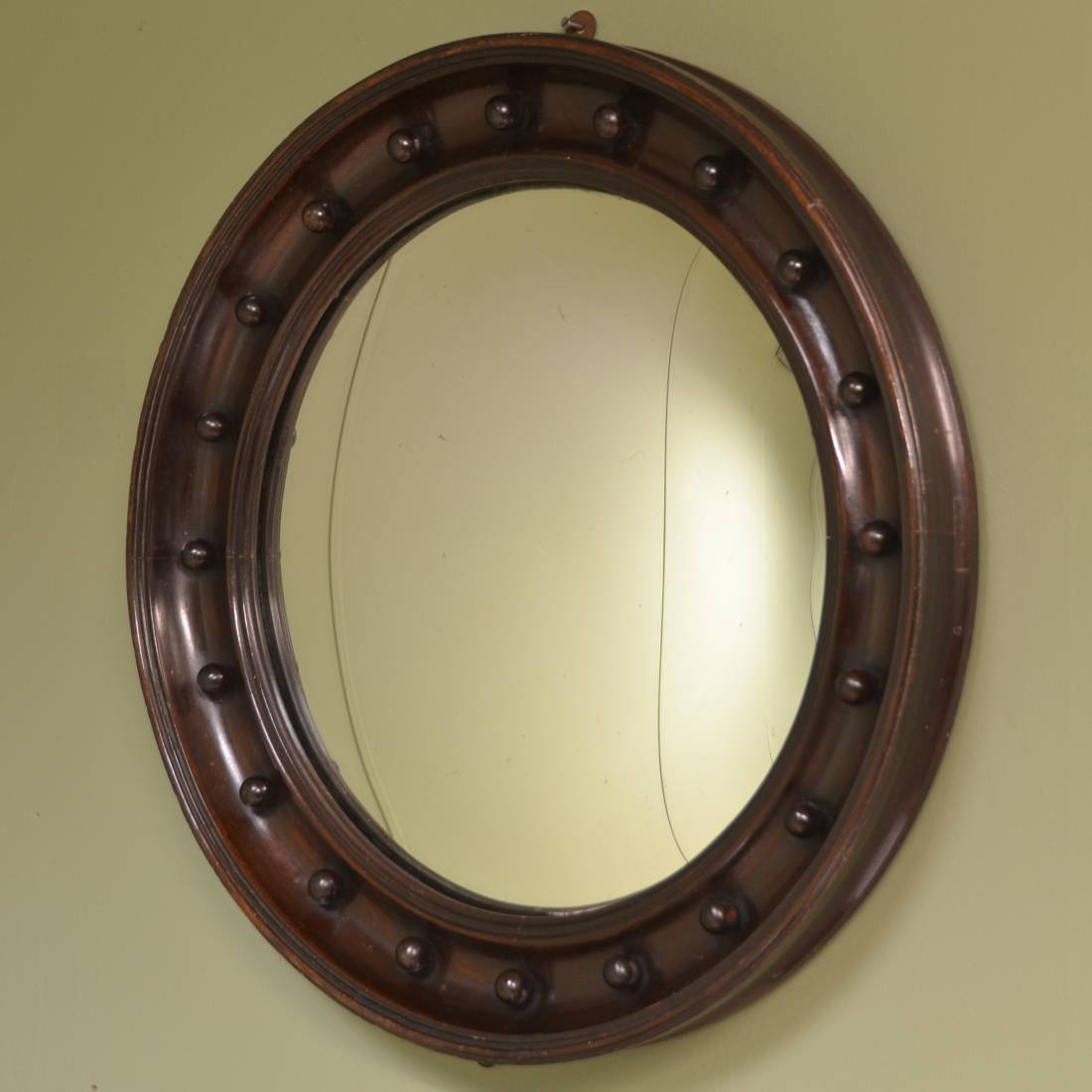 Decorative edwardian antique convex mirror antiques world for Convex mirror