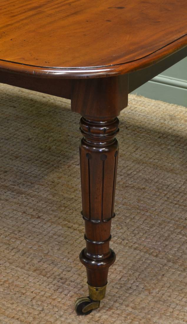 Spectacular Regency Quality Large Gillows Antique Dining Table