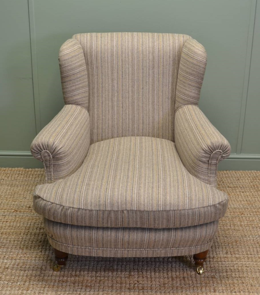 Re upholster arm chair - After