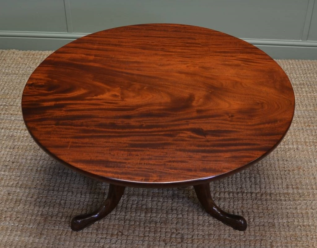 french polish coffee table